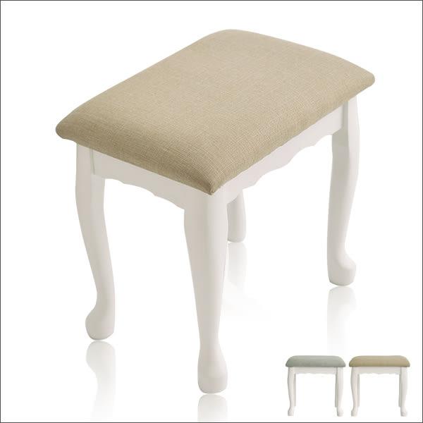化妝台 鄉村風 北歐風 化妝椅【N0027】公主風古典化妝椅(兩色) MIT台灣製ac 收納專科