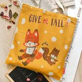 義大利Fancy Belle X LaLaWoodland《Give Me Tail !!》麻織購物袋