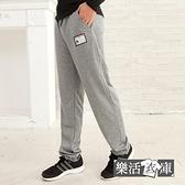 【SP130】韓風潮款布標休閒運動棉褲(共三色)● 樂活衣庫