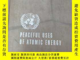 二手書博民逛書店英文版罕見PEACEFUL USES OF ATOMIC ENERCY 日內瓦和平利用原子能國際會議論文集 第10