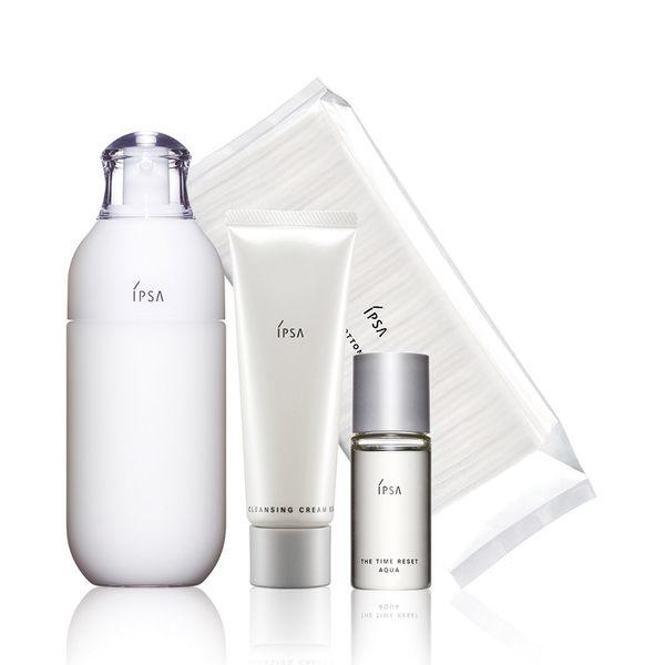 IPSA 購 ME濕潤平衡液(基礎2/基礎3) 贈 透明潔膚乳e50g+美膚微整機能液30ml+化妝棉50入