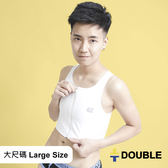 《Double束胸》AIRMAX 背網式束胸 拉鍊半身2L~3L大尺碼專區【D50】