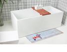 時尚創意地墊109 廚房浴室衛生間臥室床邊門廳 吸水長條防滑地毯(40*60+45*120共2條)