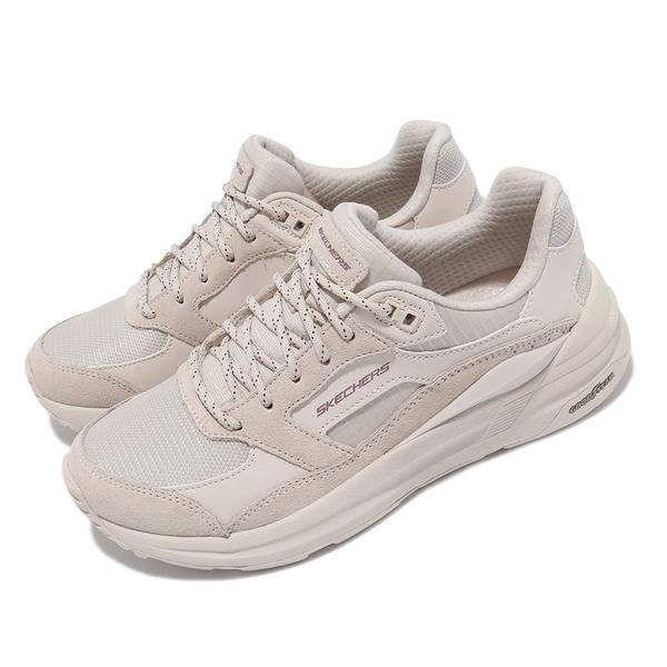 SKECHERS GLOBAL JOGGER 奶茶 女 厚底 復古 固特異鞋底 運動 休閒鞋 149626OFWT