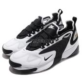 Nike 慢跑鞋 Zoom 2K 白 黑 氣墊設計 復古 運動鞋 男鞋【PUMP306】 AO0269-101