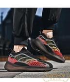 休閒跑步鞋男輕便專業馬拉松跑鞋超輕網面夜光鞋運動鞋【繁星小鎮】