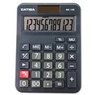 GATIGA 12位數商業專用型計算機MS-12B-黑
