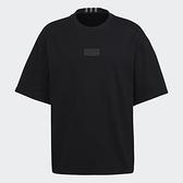 Adidas ORIGINALS R.Y.V. 男裝 短袖 T恤 寬鬆 純棉 LOGO 黑【運動世界】GN3309