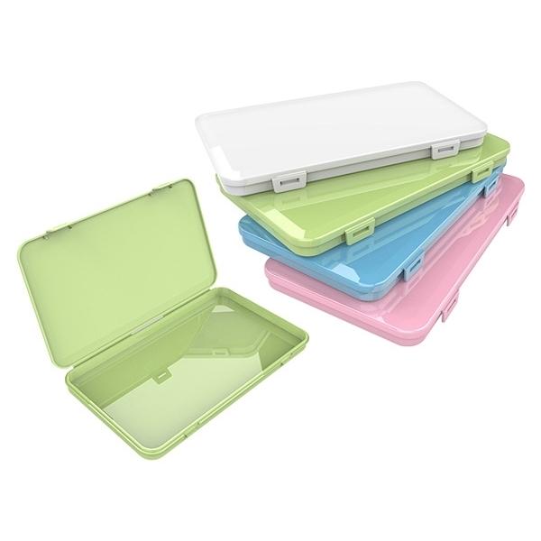 平面口罩收納盒(1入) 顏色隨機出貨【小三美日】