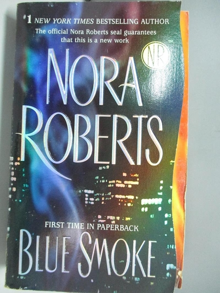 【書寶二手書T2/原文小說_ADS】Blue Smoke_Roberts, Nora