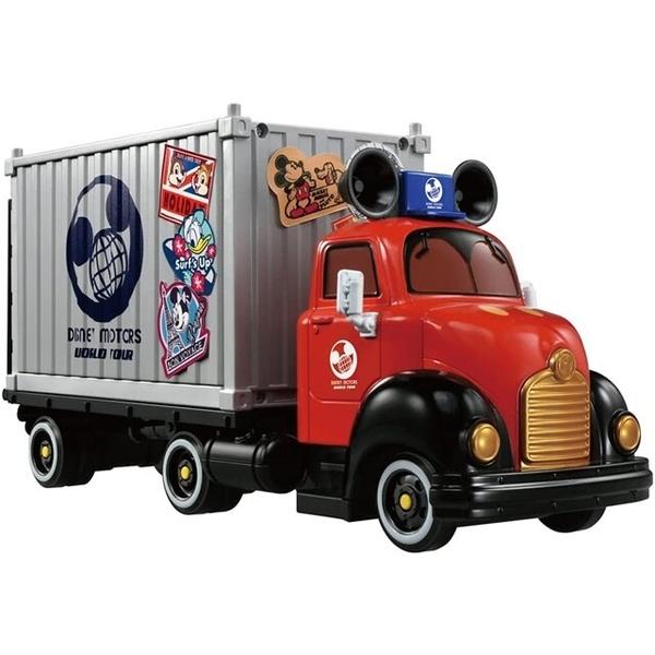 小禮堂 Tomica多美小汽車 迪士尼 米奇 收納車展示櫃 (灰色款) 4904810-17909
