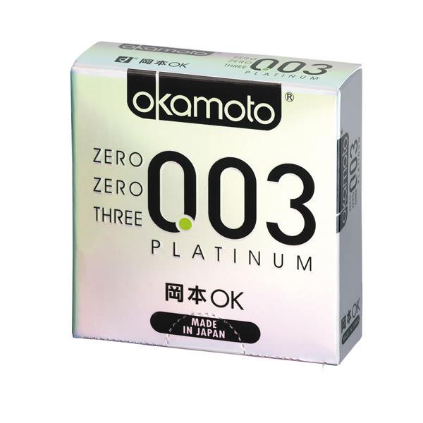 岡本OK003極薄衛生套3入【康是美】