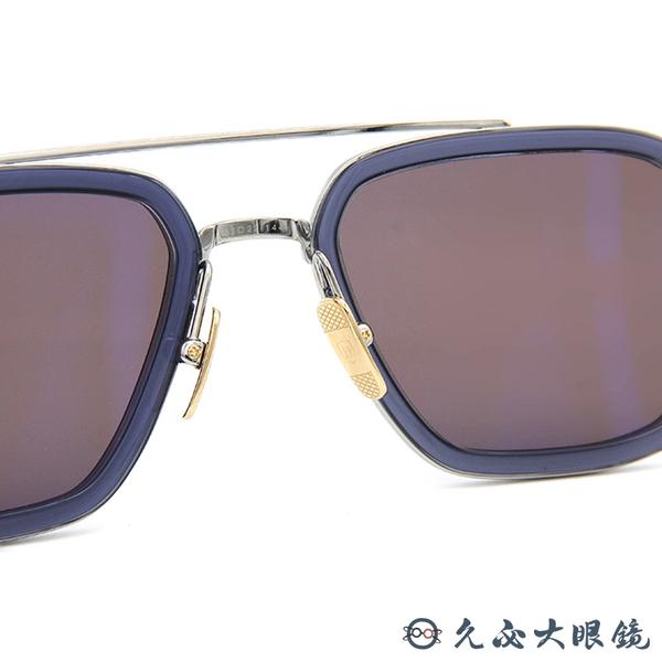 【預購】DITA 太陽眼鏡 FLIGHT 006 (透藍-銀) 復仇者聯盟 鋼鐵人墨鏡 鈦 雙槓 久必大眼鏡
