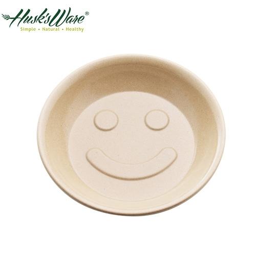 【南紡購物中心】【美國Husk's ware】稻殼天然無毒環保兒童微笑餐盤