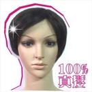 ◇天天美容美髮材料◇嘉奈兒100%全頂人戴真髮152短髮 [45886]