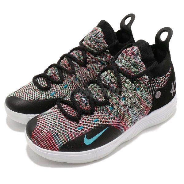 Nike Zoom KD 11 GS Multi-Colr 彩色Kevin