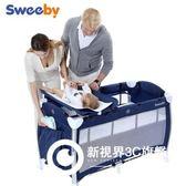 多功能環保嬰兒床便攜游戲床歐式童床非實木可折疊寶寶BB床