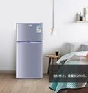 220v家用小型小冰箱雙門出租房宿舍用迷...