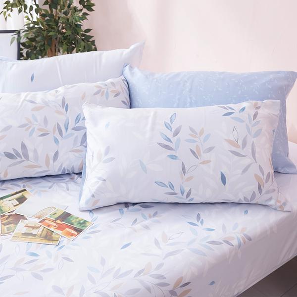床包被套組 / 雙人加大【小樹之歌】含兩件枕套 100%天絲 戀家小舖台灣製AAU312
