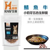 【HyperrRAW超躍】小豹牙五色生鮮餐 鯖魚牛口味 20克