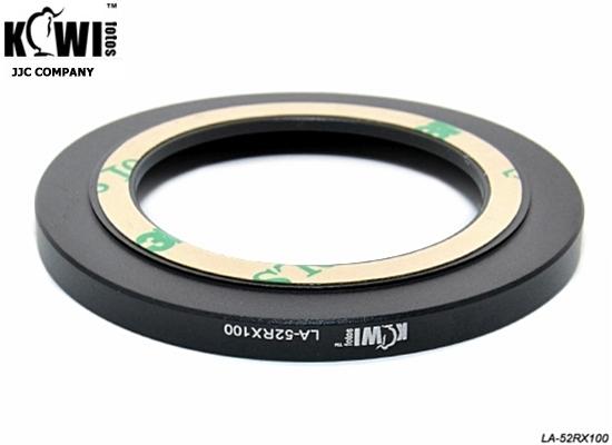 又敗家@Kiwifotos LA-52RX100轉接環Sony索尼DSC-RX100 II IV V RX100IV RX100V QX100接52mm保護鏡5偏光鏡4 3 2 M5 M4 M3 M2