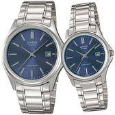【台南 時代鐘錶 CASIO】卡西歐 台灣公司貨 MTP-1183A-2A LTP-1183A-2A 簡約指針式情人對錶