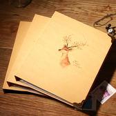相冊 創意情侶浪漫Diy真花手工相冊5寸粘貼寶寶畢業生日禮物紀念冊影集【諾克男神】