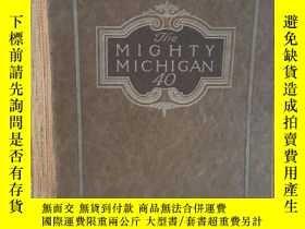 二手書博民逛書店1913年罕見美國 密歇根 汽車 Mighty Michigan