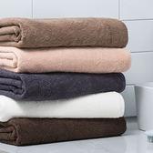 【熊貓】素色浴巾純棉成人柔軟吸水大浴巾