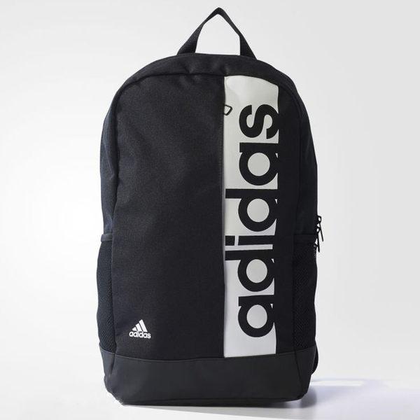 Adidas LIN PER BP 背包 後背包 休閒 黑 白 【運動世界】 S99967