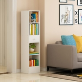 書架落地簡約客廳收納創意小書櫃臥室簡易實木色置物架學生省空間【全館免運八折】