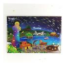 【收藏天地】台灣紀念品*創意特色磁鐵 - 照亮墾丁 /  旅遊 紀念品 手信 景點