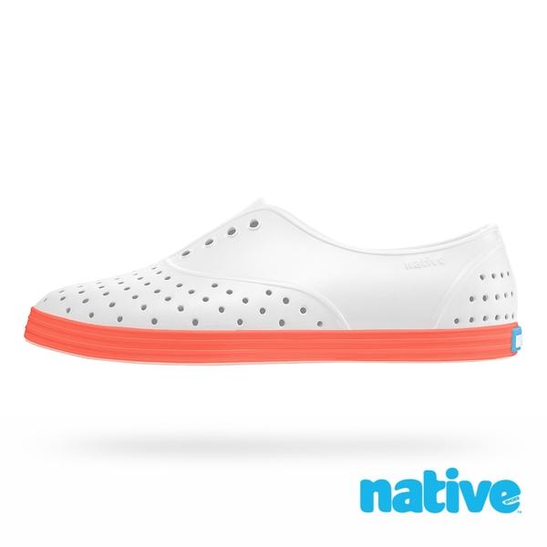 native JERICHO PRINT 女鞋-原色霓虹橘