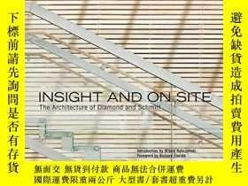 二手書博民逛書店Insight罕見and On Site - The Archi