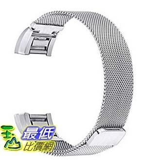 [美國直購] bayite 手環 不鏽鋼錶帶 6.7-8.1 Replacement Bands for Fitbit Charge 2, Stainless Steel