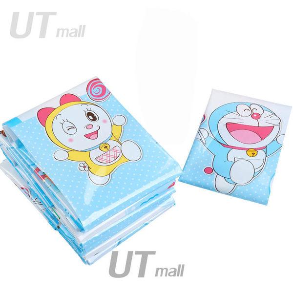 ※【UTmall】加厚12絲真空壓縮袋哆啦A夢百寶袋機器貓衣物棉被收納袋單壓縮帶#408