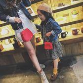 兒童韓版新款迷你手拎包可愛女童單肩包公主斜挎包包娃娃包時尚潮 父親節禮物