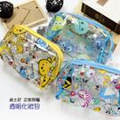 ☆小時候創意屋☆ 迪士尼 正版授權 TSUM TSUM 透明 萬用包 收納包 化妝包 防水包 鉛筆盒 筆袋