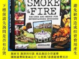 二手書博民逛書店Smoke罕見& Fire : Recipes & Menus for Entertaining Outdoors