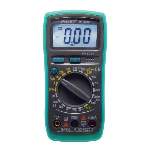 ProsKit 寶工 MT-1210 3又1/2數位電錶