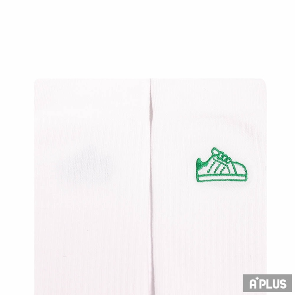 ADIDAS 中筒襪 STAN SOCK 1PP 白-H61962