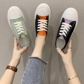 帆布鞋2020年夏季新款帆布鞋女鞋ulzzang百搭韓版布鞋子ins潮鞋球鞋板鞋 衣間迷你屋