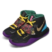 Nike 籃球鞋 Kyrie 6 CNY PS 黑 彩色 童鞋 中童鞋 運動鞋 中國新年 【PUMP306】 CQ5773-001