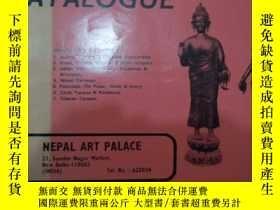 二手書博民逛書店罕見尼泊爾藝術殿堂商品目錄Y10004 nepal art pa
