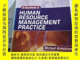 二手書博民逛書店A罕見Handbook of HUMAN RESOURCE MA