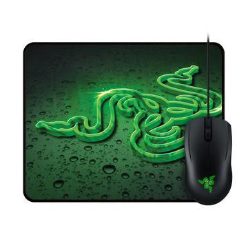 [地瓜球@] Razer Abyssus 地獄狂蛇 2000 光學 滑鼠~重裝甲蟲小鼠墊速度版