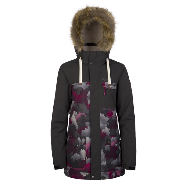 PROTEST 女 長版機能防水保暖外套 (沉靜色) LONGA EXTRA LONG SNOWJACKET