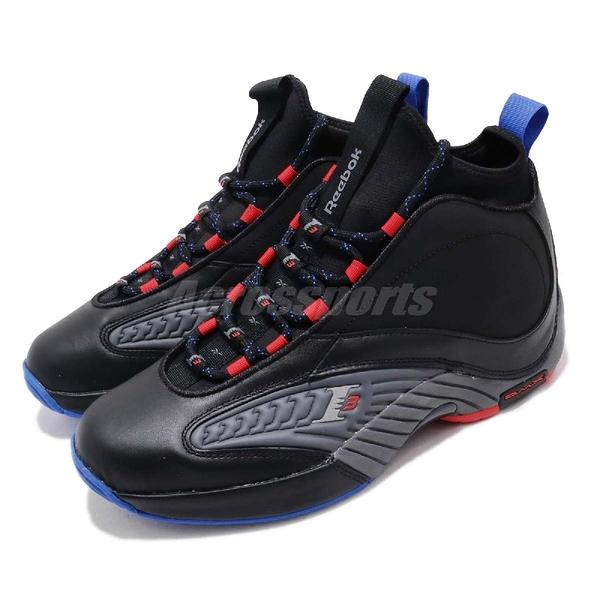【五折特賣】Reebok 籃球鞋 Answer IV V 黑 灰 男鞋 戰神 艾佛森 Allen Iverson 經典款【PUMP306】 CN5841