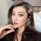 髮夾 蛇形發夾網紅2021年新款夾子頭飾韓國發卡卡子頭飾邊夾劉海頂夾女【快速出貨八折下殺】