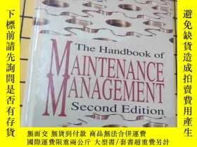 二手書博民逛書店The罕見Handbook of MAINTENANCE MAN